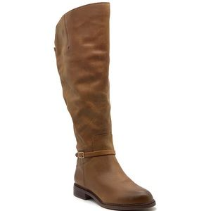 Franco Sarto Haylie Leather Knee High Boot
